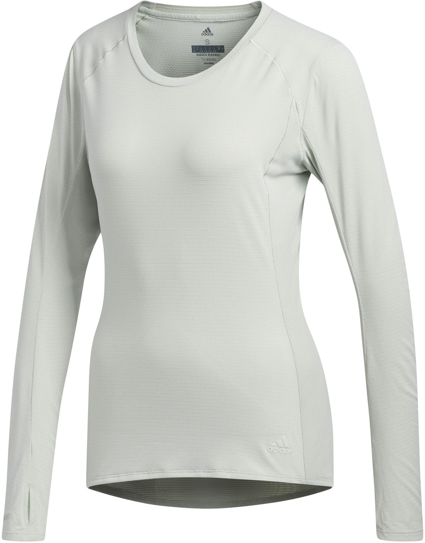 4056a55055c adidas Supernova Hardloopshirt lange mouwen Dames wit I Eenvoudig ...